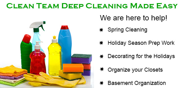 Clean Team Services- Call Us Today!